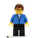 LEGO Peter Parker with Blue Jacket Minifigure