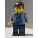 LEGO Peter Parker with Sand Blue Jacket Minifigure
