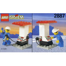 LEGO Petrol Station Attendant and Pump Set 2887