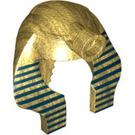 LEGO Pharaoh Minifig Pharoah Headdress Nemes Type 2 (91630 / 93853)