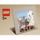 LEGO Photo Frame - Castle (Gray) (4212662)