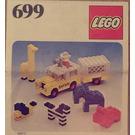 LEGO Photo Safari Set 699 Instructions