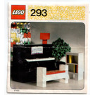 LEGO Piano Set 293 Instructions