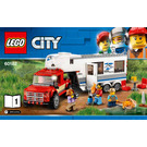 LEGO Pickup & Caravan Set 60182 Instructions