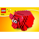 LEGO Piggy Coin Bank Set 40155 Instructions