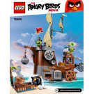 LEGO Piggy Pirate Ship Set 75825 Instructions