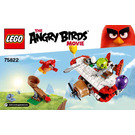 LEGO Piggy Plane Attack Set 75822 Instructions