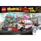 LEGO Pigsy's Food Truck Set 80009 Instructions