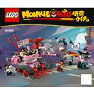 LEGO Pigsy's Noodle Tank Set 80026 Instructions