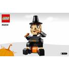 LEGO Pilgram's Feast Set 40204 Instructions