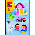 LEGO Pink Brick Box Set 5585 Instructions