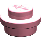LEGO Pink Round Plate 1 x 1
