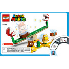 LEGO Piranha Plant Power Slide Set 71365 Instructions