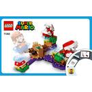 LEGO Piranha Plant Puzzling Challenge Set 71382 Instructions