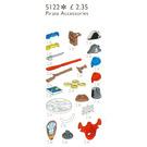 LEGO Pirate Accessories Set 5122