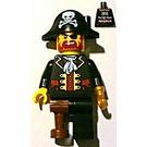 LEGO Pirate Captain Alpharetta Minifigure