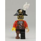 LEGO Pirate Captain Minifigure