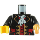 LEGO Pirate Captain Torso with Hook (973 / 84638)