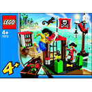 LEGO Pirate Dock Set 7073 Instructions