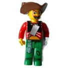 LEGO Pirate Harry Hardtack Minifigure
