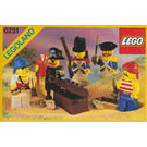 LEGO Pirate Minifigures Set 6251