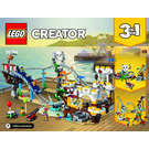 LEGO Pirate Roller Coaster Set 31084 Instructions