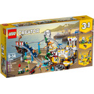 LEGO Pirate Roller Coaster Set 31084 Packaging