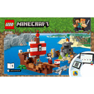 LEGO Pirate Ship Set 21152 Instructions