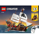 LEGO Pirate Ship Set 31109 Instructions