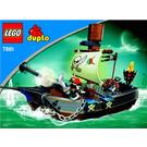 LEGO Pirate Ship Set 7881 Instructions