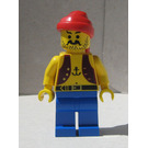 LEGO Pirate with Anchor Tattoo Minifigure