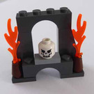LEGO Pirates Advent Calendar Set 6299-1 Subset Day 23 - Brick Arch with Fire and Skull