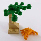 LEGO Pirates Advent Calendar Set 6299-1 Subset Day 9 - Plants and Crab