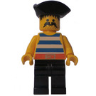 LEGO Pirates Cannon Pirate with Triangular Hat Minifigure