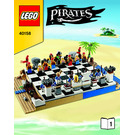 LEGO Pirates Chess Set 40158 Instructions