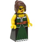 LEGO Pirates Chess Set Queen with Dark Green Dress Minifigure