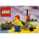 LEGO Pirates Desert Island Set 1481