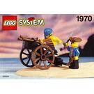 LEGO Pirates Gun Cart Set 1970