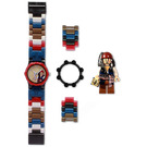 LEGO Pirates of the Caribbean Jack Sparrow with Minifigure Watch  (5000141)