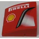 LEGO 'PIRELLI', Shell Logo, Air Intake (Left) Stickered Assembly