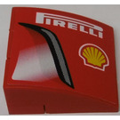 """LEGO """"PIRELLI"""", Shell Logo, Air Intake (Right) Stickered Assembly"""