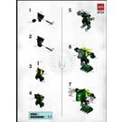 LEGO Piruk Set 8723 Instructions