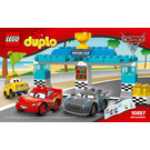 LEGO Piston Cup Race Set 10857 Instructions