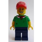 LEGO Pizza Delivery Man Minifigure