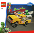 LEGO Pizza Planet Truck Rescue Set 7598 Instructions