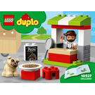 LEGO Pizza Stand Set 10927 Instructions