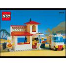 LEGO Pizza-To-Go Set 10036 Instructions