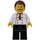 LEGO Pizza Van Chef Minifigure