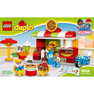 LEGO Pizzeria Set 10834 Instructions