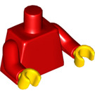LEGO Plain Torso with Red Arms and Yellow Hands (76382 / 88585)
